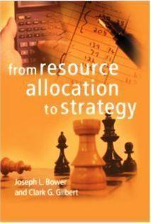 """Джозеф Бауэр """"От размещения ресурсов к стратегии"""""""